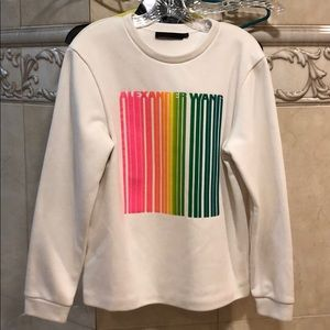 Alexander Wang long sleeve sweatshirt